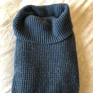 LL Bean comfy chunky knit turtleneck sweater